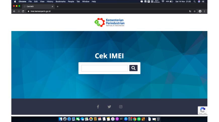 Tentang pengendalian IMEI Blokir Ponsel BM dan Unlock SIM Carrier Ponsel dari luar negeri