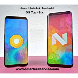 Jasa Unbrick Repair Dead Boot Android OS 7.0 Nougat - 8.x Oreo
