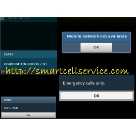 Repair IMEI Samsung OS 2.3.x sd 4.0 Original