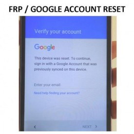 Unlock Remove Bypass FRP Google Account Semua Type