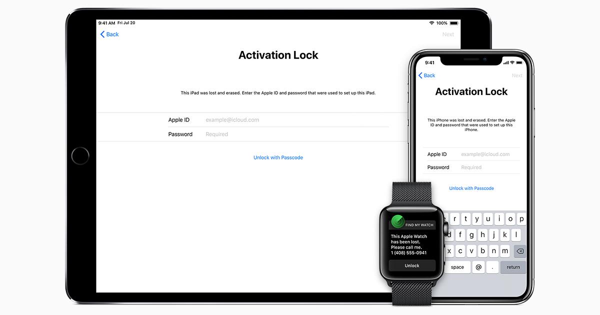 Tentang Activation Lock atau Kunci Aktivasi pada iPhone iPad iPod iWatch