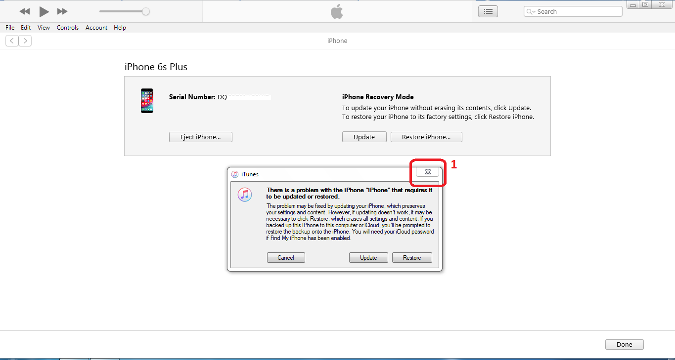 Cara Restore iPhone iOS melalui iTunes dengan Windows PC
